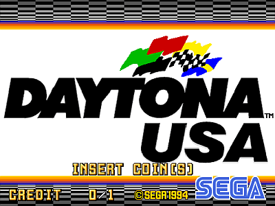 Daytona USA screenshot