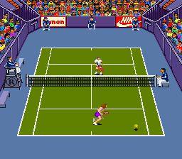 Andre Agassi Tennis [Model SHVC-NY] screenshot