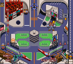 Battle Pinball [Model SHVC-ABPJ-JPN] screenshot