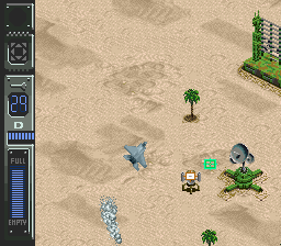 Desert Fighter - Suna no Arashi Sakusen [Model SHVC-OS-JPN] screenshot