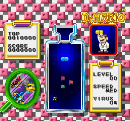 Dr. Mario [Model SHVC-BDMJ-JPN] screenshot