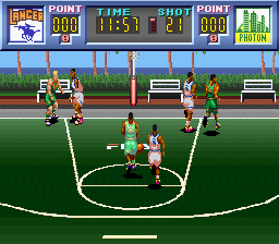 Dream Basketball - Dunk & Hoop [Model SHVC-ADBJ-JPN] screenshot