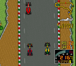 F-1 Grand Prix - Part II [Model SHVC-FV] screenshot