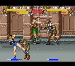 Final Fight Tough [Model SHVC-AFZJ-JPN] screenshot