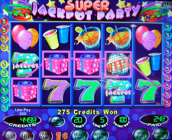 play jackpot party slot machine online  games download