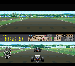 Human Grand Prix III - F1 Triple Battle [Model SHVC-AGXJ-JPN] screenshot