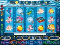 Reel 39 em in big bass bucks slot machine by wms gaming inc for Reel em in fishing slot machine