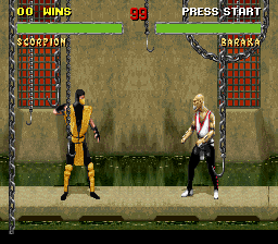 Mortal Kombat II - Kyuukyoku Shinken [Model SHVC-28] screenshot