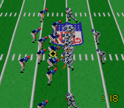 NFL Football [Model SHVC-NF] screenshot