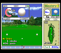 New 3D Golf Simulation - Harukanaru Augusta [Model SHVC-GA] screenshot