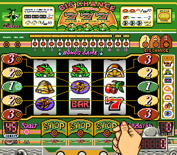 Pachi-Slot Gambler [Model SHVC-AGAJ-JPN] screenshot