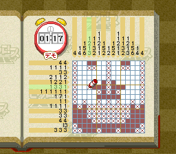 Picross NP Vol. 2 [Model SHVC-BP2J-JPN] screenshot