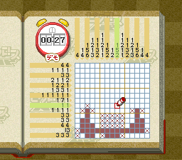 Picross NP Vol. 3 [Model SHVC-BP3J-JPN] screenshot