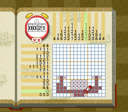 Picross NP Vol. 5 [Model SHVC-BP5J-JPN] screenshot