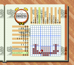 Picross NP Vol. 6 [Model SHVC-BP6J-JPN] screenshot