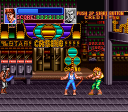 Return of Double Dragon [Model SHVC-WD] screenshot