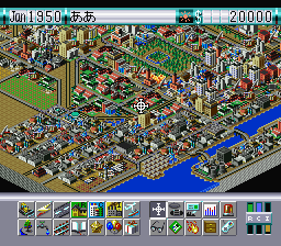 Sim City 2000 [Model SHVC-AWWJ-JPN] screenshot