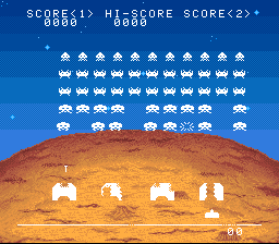Space Invaders - The Original Game [Model SHVC-IC] screenshot