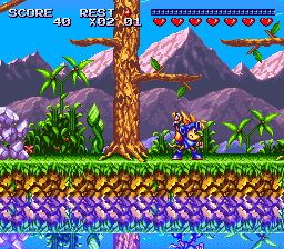 Sparkster [Model SHVC-ASSJ-JPN] screenshot