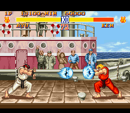 Street Fighter II - The World Warrior [Model SHVC-S2] screenshot