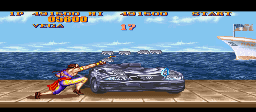 Street Fighter III - Super Version 12 Fighters screenshot