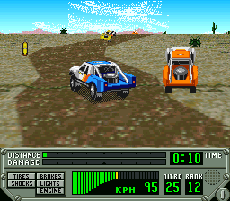 Super 4WD - The Baja [Model SHVC-R8-JPN] screenshot