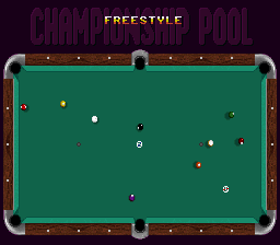 Super Billiard - Championship Pool [Model SHVC-IP] screenshot