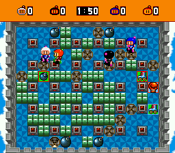 Super Bomberman [Model SHVC-H6] screenshot
