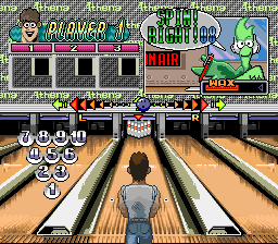 Super Bowling [Model SHVC-BW] screenshot
