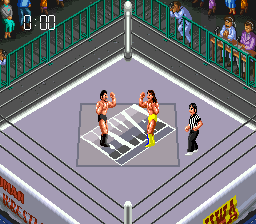 Super Fire Pro Wrestling III - Easy Type [Model SHVC-3E] screenshot