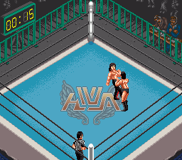 Super Fire Pro Wrestling Special [Model SHVC-AP4J-JPN] screenshot