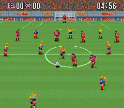 Super Formation Soccer [Model SHVC-FS] screenshot