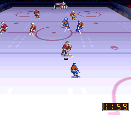 Super Hockey '94 [Model SHVC-OX] screenshot