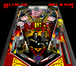 Super Pinball II - The Amazing Odyssey [Model SHVC-APLJ-JPN] screenshot