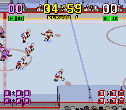 Super Slap Shot [Model SHVC-ZX] screenshot