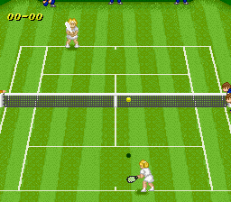 Super Tennis - World Circuit [Model SHVC-ST-JPN] screenshot