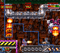 Super Turrican [Model SHVC-T9] screenshot