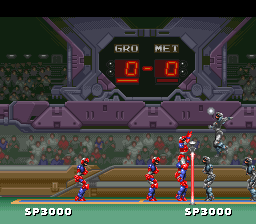 Super Volley II [Model SHVC-VB] screenshot