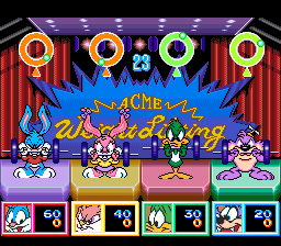 Tiny Toon Adventures - Dotabata Daiundoukai [Model SHVC-5Z] screenshot