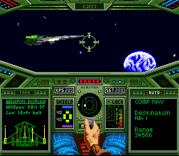 Wing Commander [Model SHVC-WC] screenshot