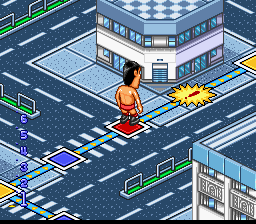 Zen-Nihon Pro Wrestling - Fight da Pon! [Model SHVC-JF] screenshot