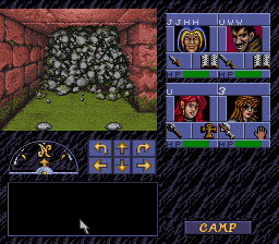 Advanced Dungeons & Dragons: Eye of the Beholder [Model SNS-IB-USA] screenshot