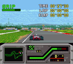 Aguri Suzuki F-1 Super Driving screenshot