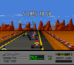 Al Unser Jr.'s Road to the Top [Model SNSP-AUJP-EUR] screenshot