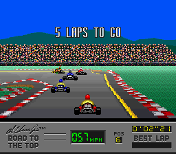 Al Unser Jr.'s Road to the Top [Model SNS-AUJE-USA] screenshot