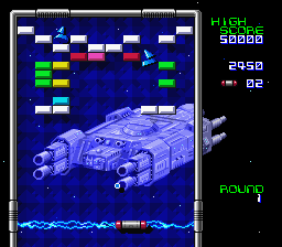 Arkanoid - Doh It Again [Model SNSP-A6-EUR] screenshot