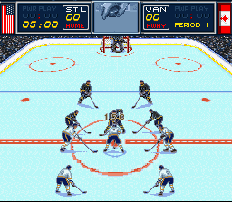 Brett Hull Hockey '95 [Model SNS-ABHE-USA] screenshot