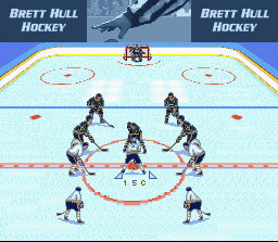 Brett Hull Hockey [Model SNS-5Y-USA] screenshot