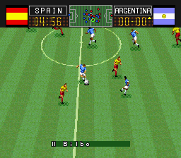 Capcom's Soccer Shootout screenshot