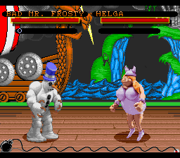 Clay Fighter [Model SNSP-8C-EUR] screenshot